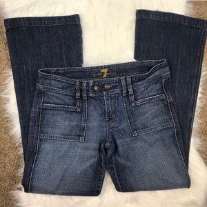 7 For All Mankind Low Rise Jeans Size 29